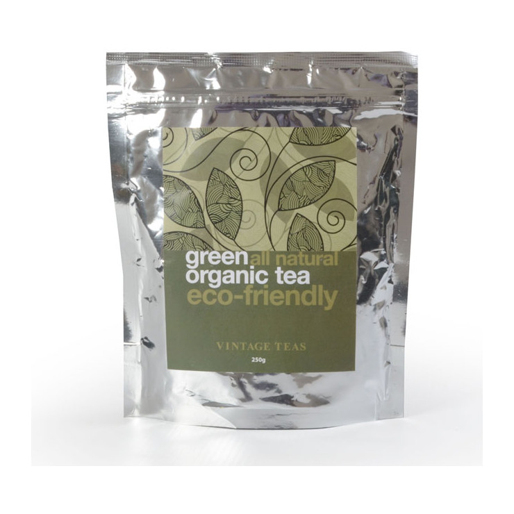 Organic Green Tea 250g Loose Leaf