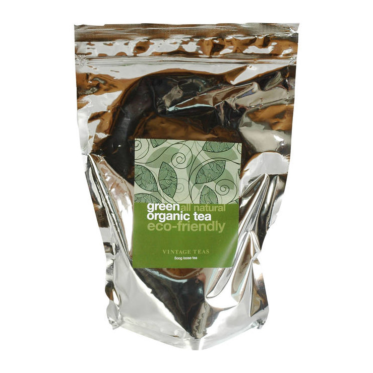 Organic Green Tea 500G Loose Leaf