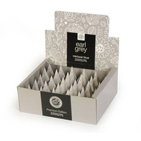 Earl Grey 30 Individually Wrapped Pyramid Box