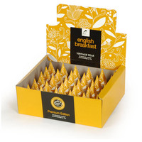 English Breakfast 30 Individually Wrapped Pyramid Box