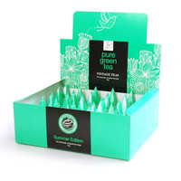 Green Tea 30 Individually Wrapped Pyramid Box