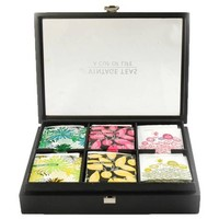 6 Compartment Presentation Box with Tea