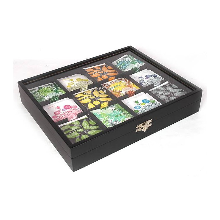 12 Compartment Presentation Box with Tea