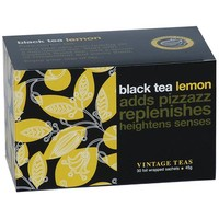 """Spring Special"" Black Tea Lemon - 30 Envelope Teabags"