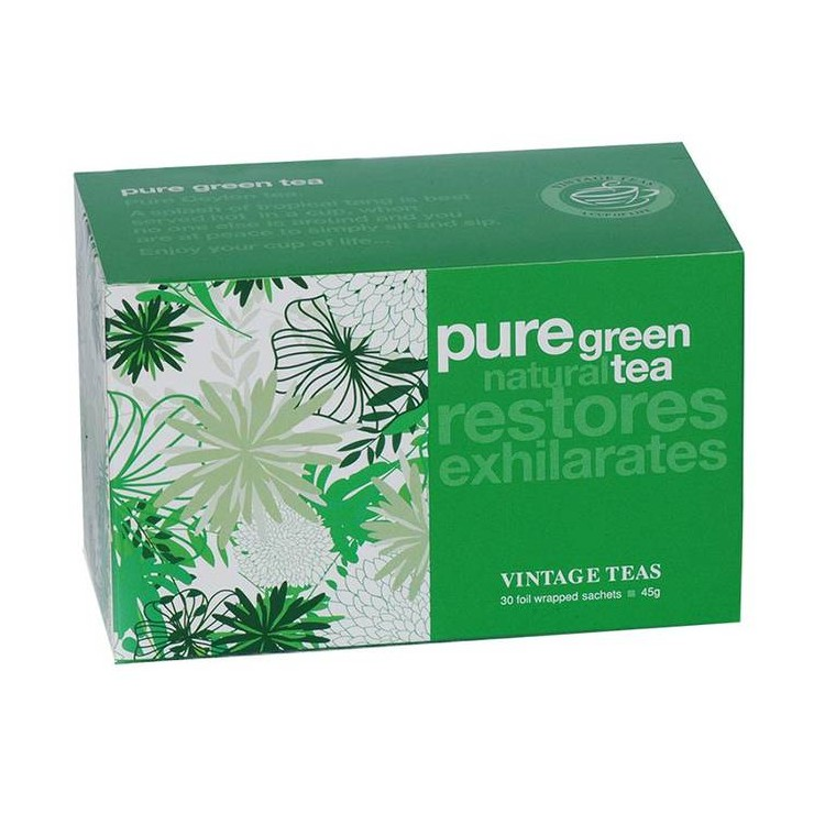 Pure Green Tea envelope