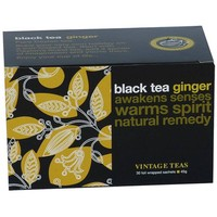 """Spring Special"" Black Tea Ginger -  30 Envelope Teabags"