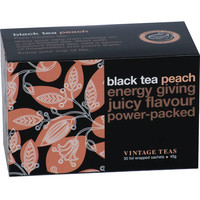 Black Tea Peach 30 Envelopes