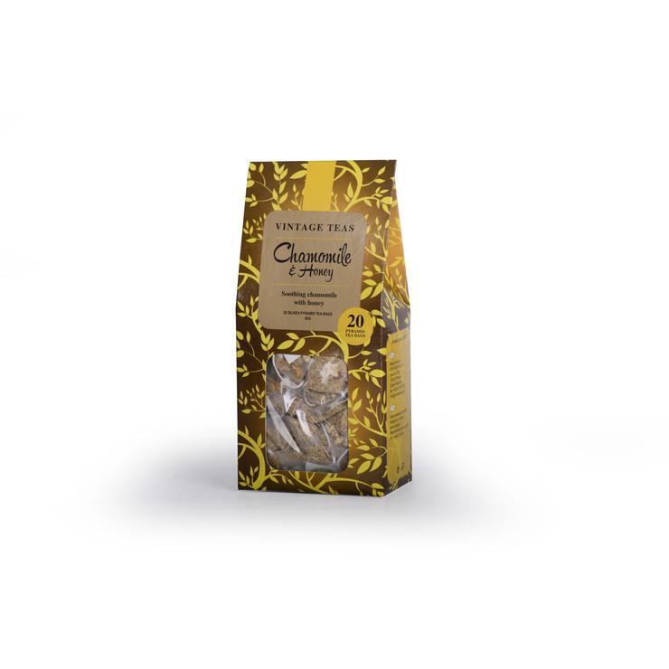 Chamomile Honey, 20 Pyramid Tea Bags