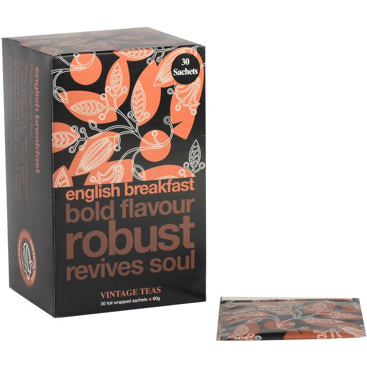 English Breakfast 30 Envelope Tea Bags
