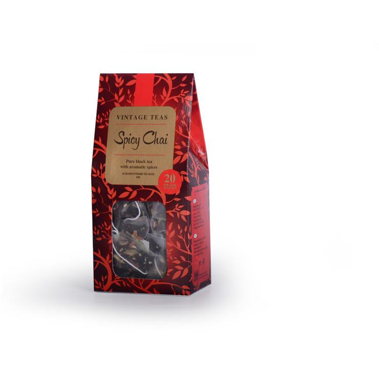 Chai, 20 Pyramid Tea Bags