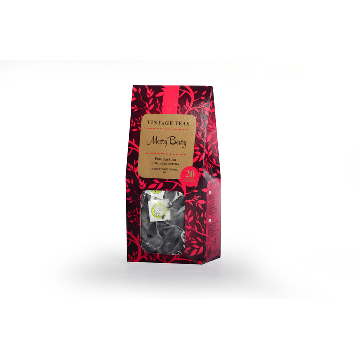 Merryberry - 20 Pyramid Teabags