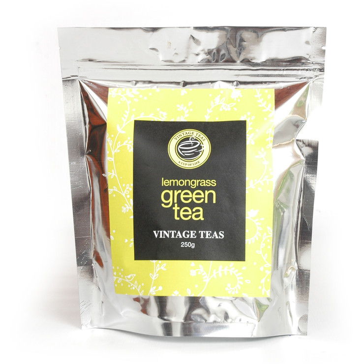 **LOW CODE** Green Tea Lemongrass, 250G Loose Leaf