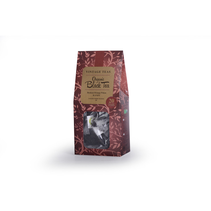 """Hot Price"" Organic Black Tea - 20 Pyramids"