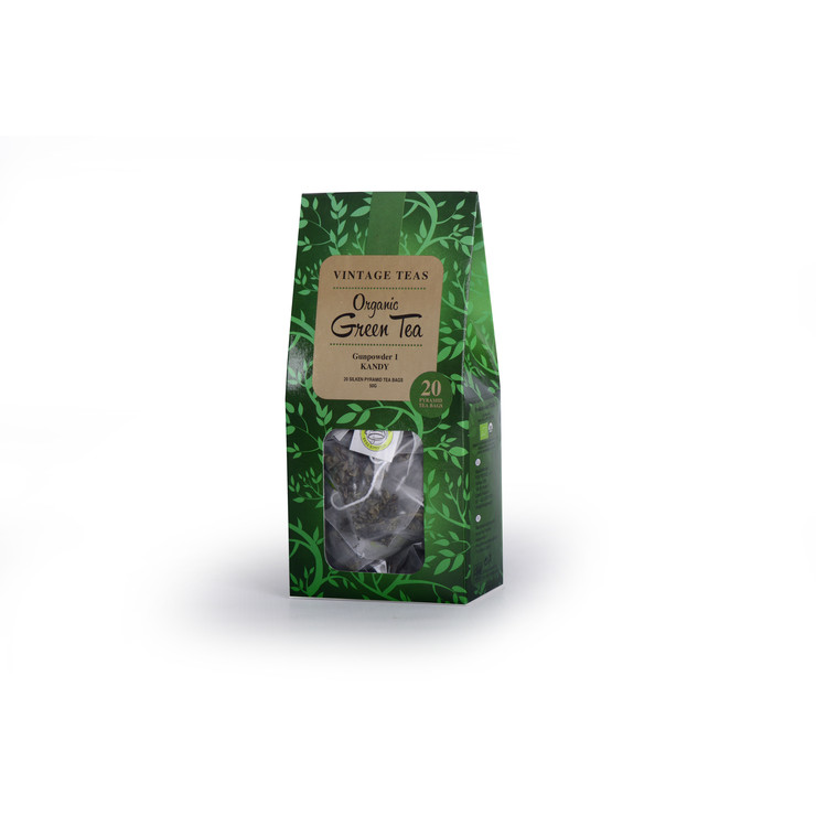 Organic Green Tea - 20 Pyramids