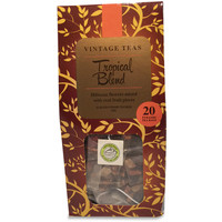 Tropical Fruits - 20 Pyramid Teabags