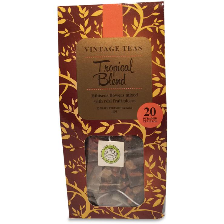 Tropical Fruits - 20 Pyramid Teabags