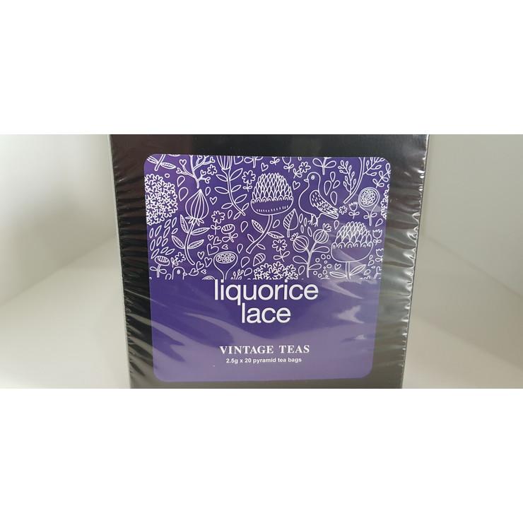 Liquorice Lace - 20 Pyramid Teabags