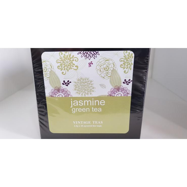 Jasmine Green Tea - 20 Pyramid Teabags