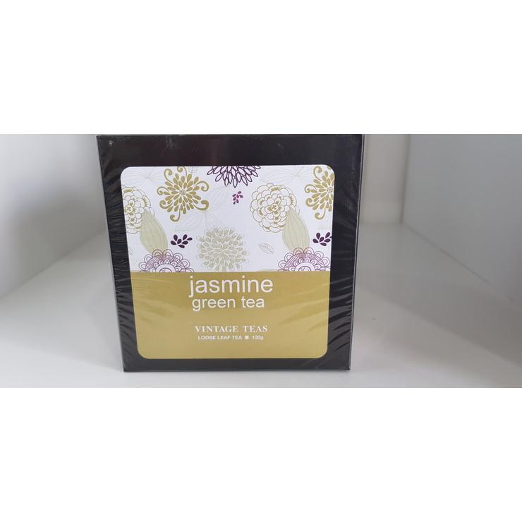 Jasmine Green Tea - 100g Loose Leaf